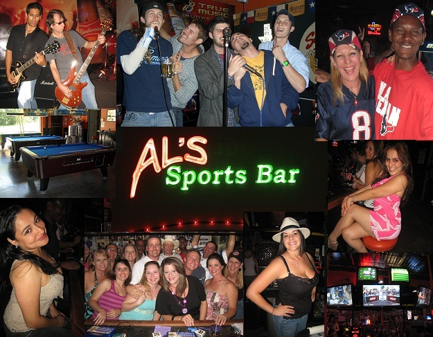 Al's Sports Bar Photo Collage